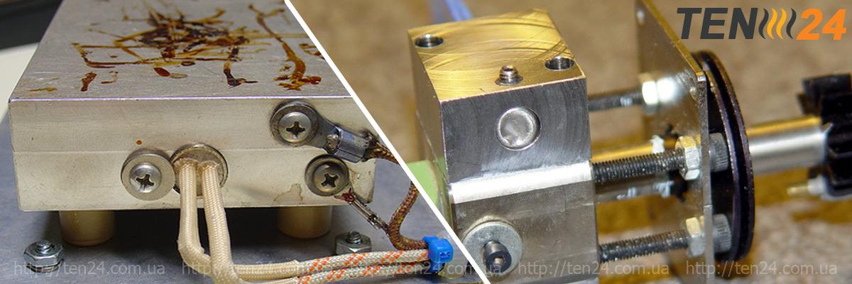 Установка и демонтаж патронного нагревателя